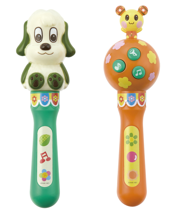 ワンワンとうーたんのマラカス 子供用 マラカス おもちゃ 楽器 メロディが鳴る 1.5歳以上 - エイムキューブ画像3