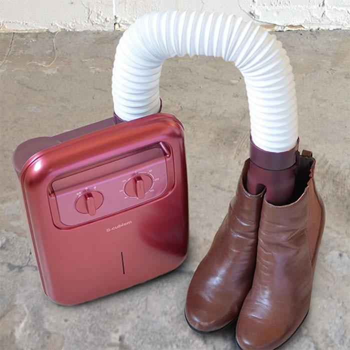 シューズドライヤー くつ乾燥 靴乾燥 ブーツ 長靴 アロマケース付 - aimcube画像2