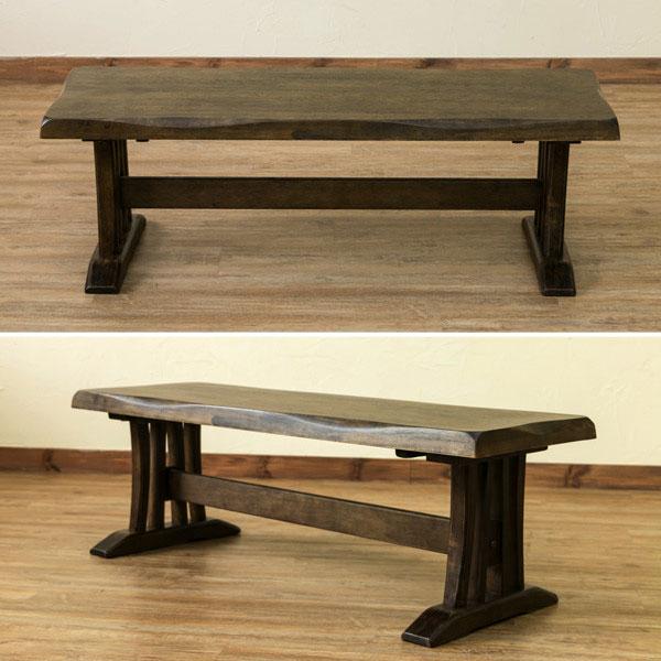 引き出し収納 ファミリーテーブル 食卓 天然木製 ナチュラルテイスト - エイムキューブ画像2
