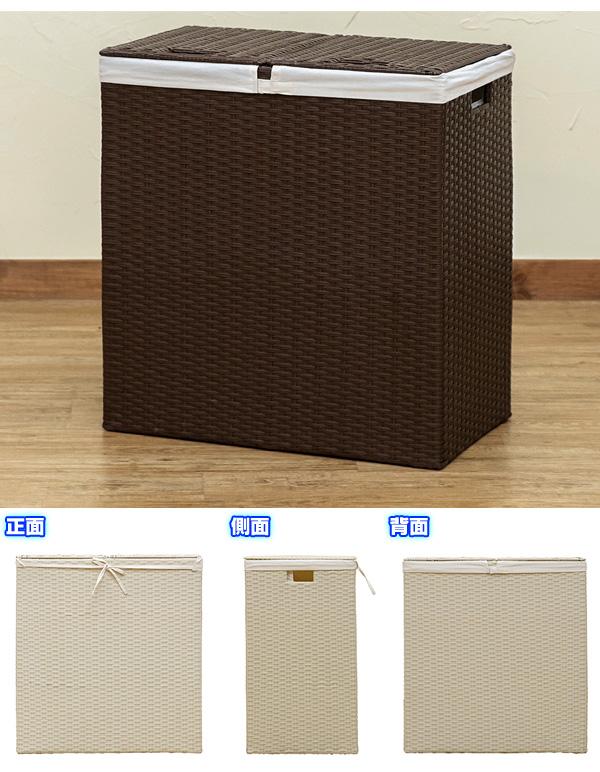 サニタリー バスケット 子供部屋 おもちゃ箱 インナーカバー付 完成品 丈夫なスチールフレーム - aimcube画像4