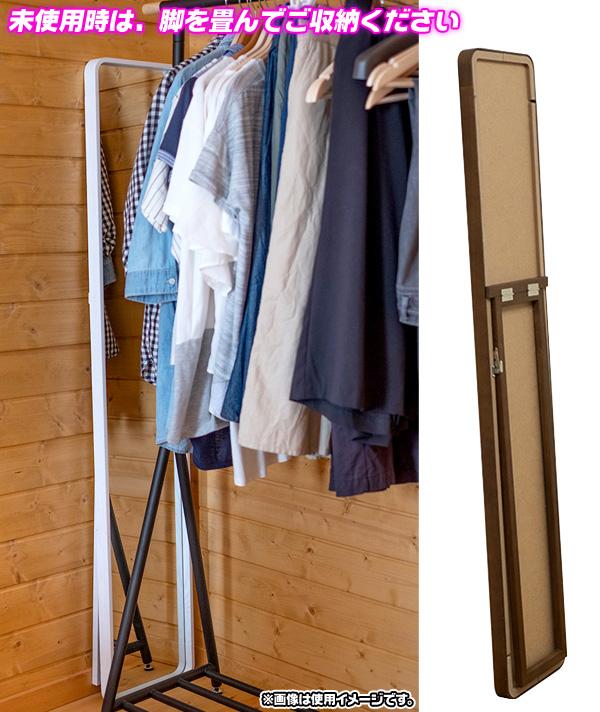 天然木 スタンドミラー 木製フレーム シンプル ミラー 姿見 合わせ易い ミラー 全身鏡 - エイムキューブ画像3