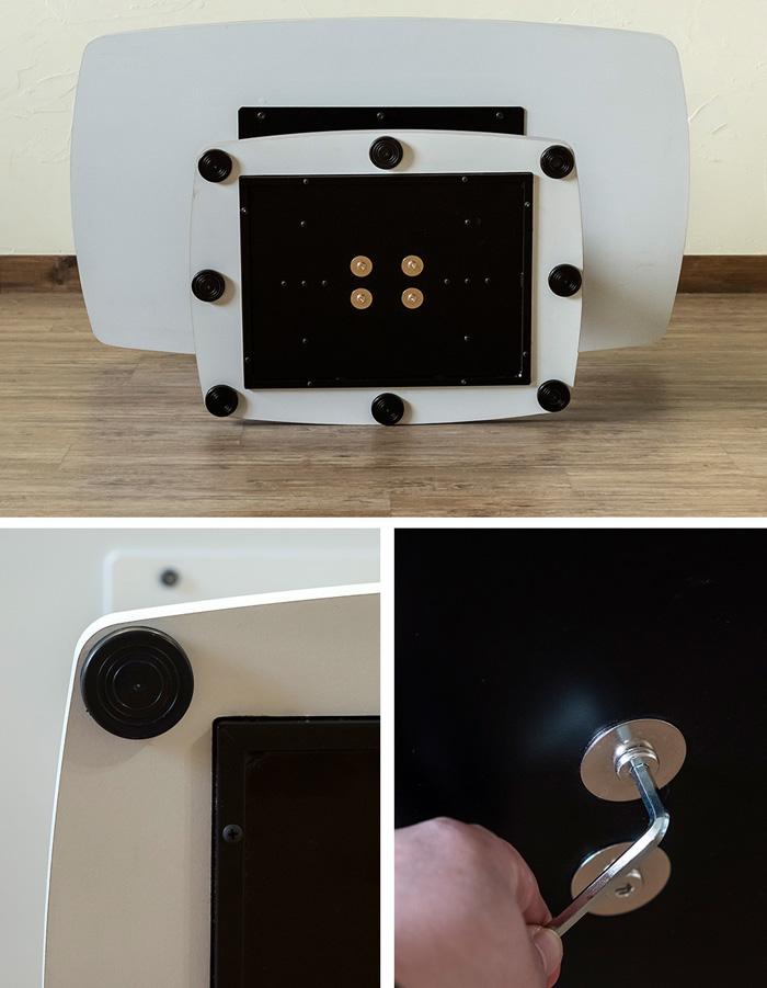 シンプル 昇降 テーブル 食卓 作業台 デスク 高さ 無段階調整可能 - aimcube画像4