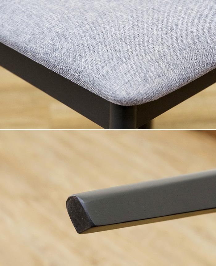 食卓椅子 ダイニング椅子 食卓 チェア 座面高 約46.5cm - aimcube画像4