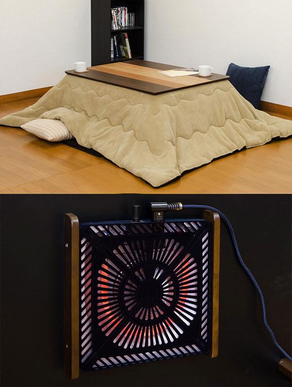こたつテーブル モダン コタツ こたつテーブル ローテーブル 幅105cm ヒーター国内メーカー 510W - エイムキューブ画像3