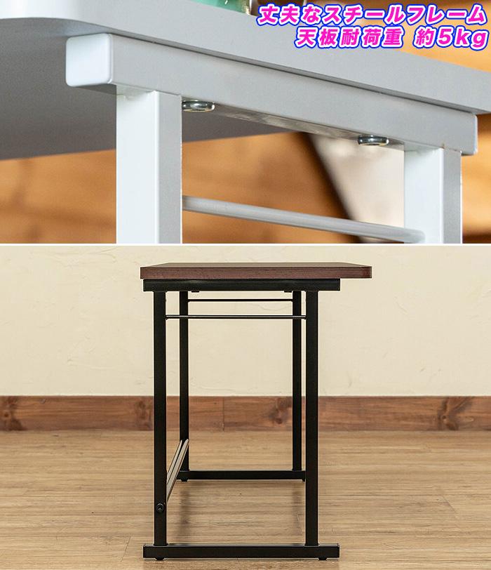 キッチンラック レンジ上ラック 家電ラック 収納 棚 天板 耐荷重 約5kg - aimcube画像4
