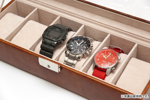huge discount 7f1d4 0cb14 鍵付 ウォッチケース 6本用 腕時計ケース ラージタイプ コレクションケース 腕時計収納 アクリル窓付 -  aimcube(エイムキューブ)-インテリア・家具・雑貨・ハンドメイド作品
