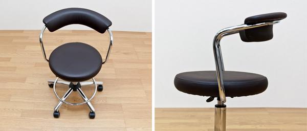 事務所椅子 黒 ブラック 昇降チェア デスクチェア - aimcube画像2