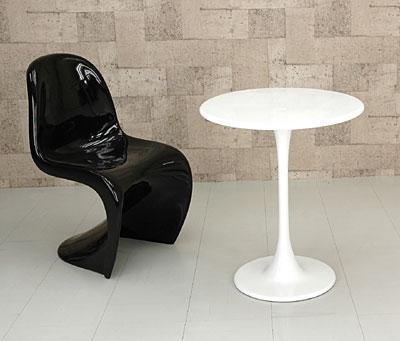 ラウンドテーブル FRP製 直径60cm カフェテーブル 丸テーブル フラワーテーブル 展示台 - エイムキューブ画像1