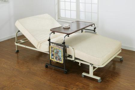 介護テーブル シングルサイズ 介護用テーブル 作業テーブル ベッド用作業台 読書テーブル - aimcube画像2