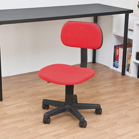 パソコンチェア 事務所 椅子 机 イス 青 ブルー - aimcube画像2