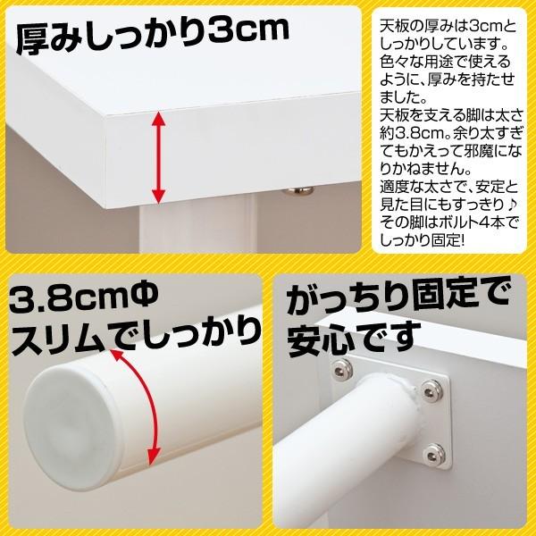 フリーテーブル 幅150cm フリーデスク PCデスク 会議用テーブル ミーティング テーブル - エイムキューブ画像3