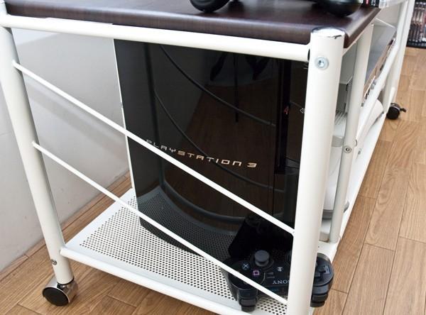 テレビ台 幅100cm 白 ホワイト 棚付 テレビラック - aimcube画像4