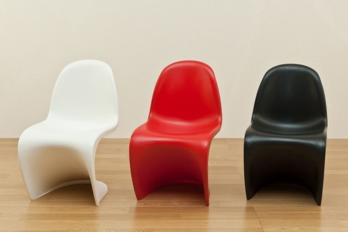 キッズ用パントンチェア 子供用チェア 椅子 ミニサイズ - エイムキューブ画像1