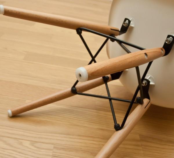 子ども用シェルチェア 黒 ブラック キッズチェア 幼稚園用いす 保育園用椅子 - aimcube画像4