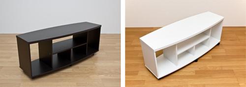 ローボード 高さ40cm DVDプレーヤーラック ディスプレイラック サイドテーブル - aimcube画像4