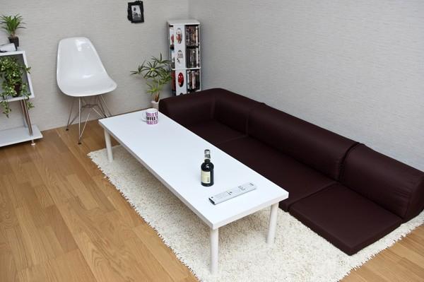 ローテーブル 150cm幅 フリーテーブル フリーデスク 休憩机 座卓 PCデスク - エイムキューブ画像1
