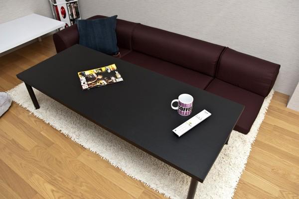 食卓 高さ34cm 作業台 文机 パソコンデスク 奥行45cm 60cm センターテーブル - aimcube画像2