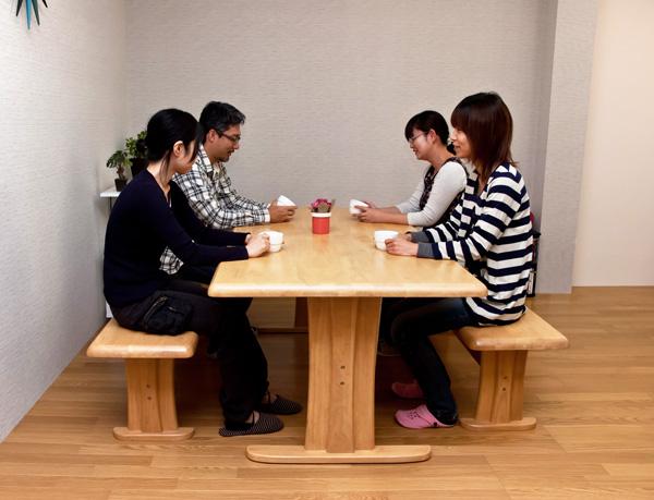 ダイニング テーブル ベンチ - エイムキューブ画像2