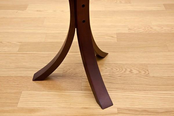 ベッドサイドテーブル ライトブラウン ラウンドテーブル 飾り台 - aimcube画像4