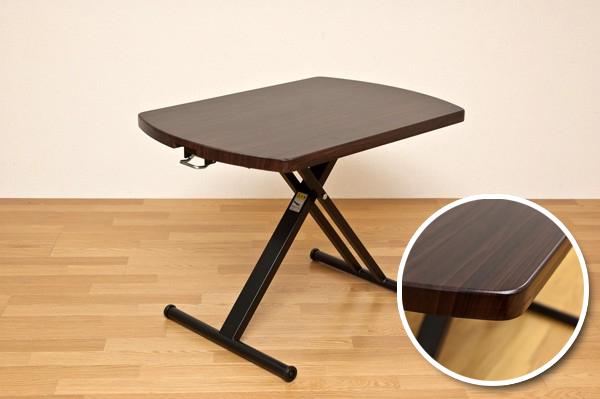 昇降テーブル 幅90cm リフトテーブル ガス圧昇降式 - エイムキューブ画像2