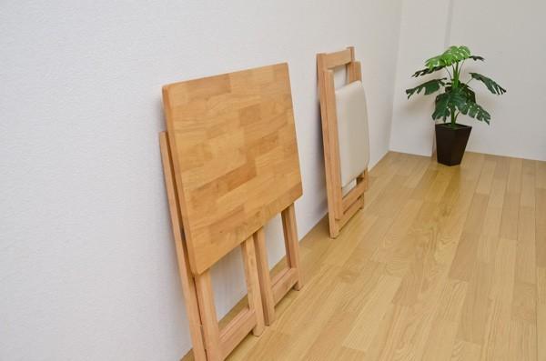 折りたたみテーブル 70cm幅 チェア 折り畳みデスク - エイムキューブ画像3