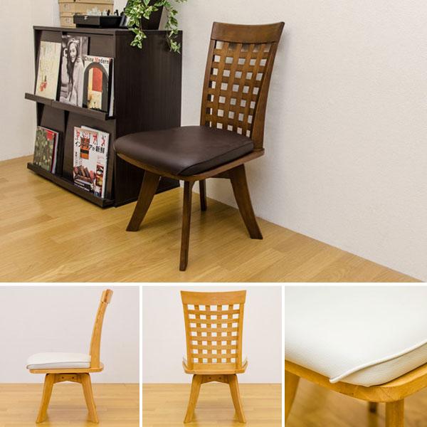 ハイバック ダイニング 椅子 食卓チェア 座面PVC リビングチェア 食卓用イス 食卓椅子 - aimcube画像2