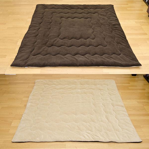 こたつ掛布団 190×190cm 正方形 掛け布団 75〜80cmコタツ用 ふわふわ手触り 柔らか素材 - エイムキューブ画像3
