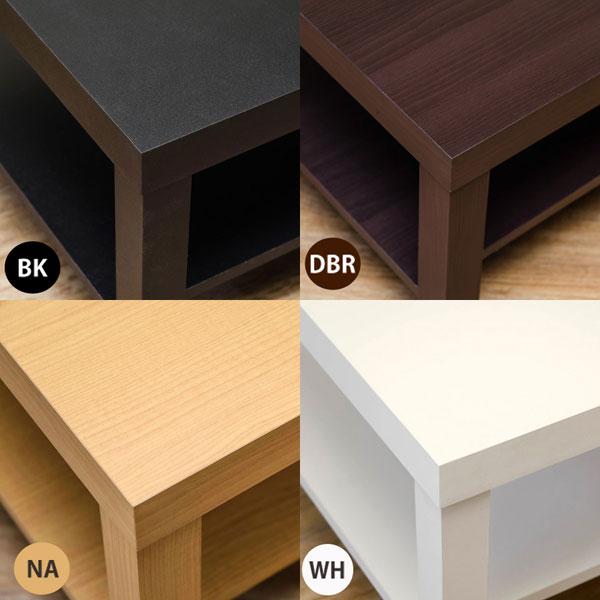 アウトレット 棚付 センターテーブル カフェテーブル 幅90cm わけあり特価 一人暮らし用テーブル - エイムキューブ画像3