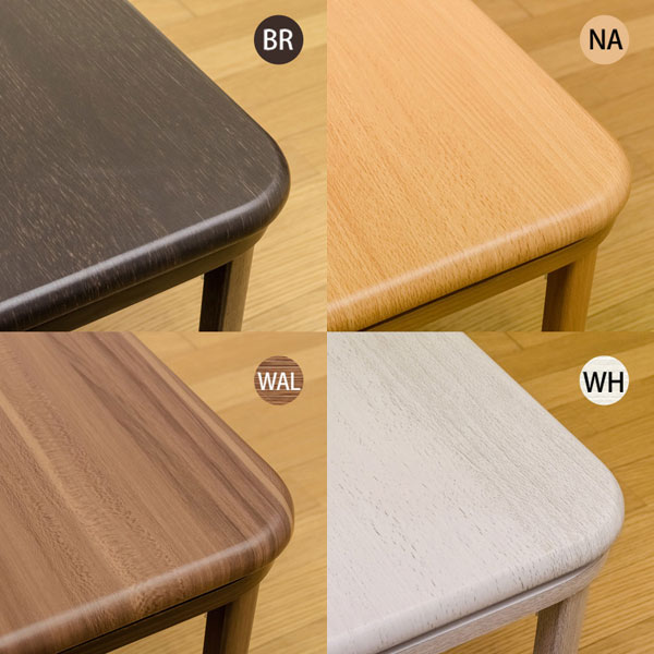 こたつ フラットヒーター 折り畳み 幅80cm コタツ テーブル 完成品 家具調 - エイムキューブ画像3