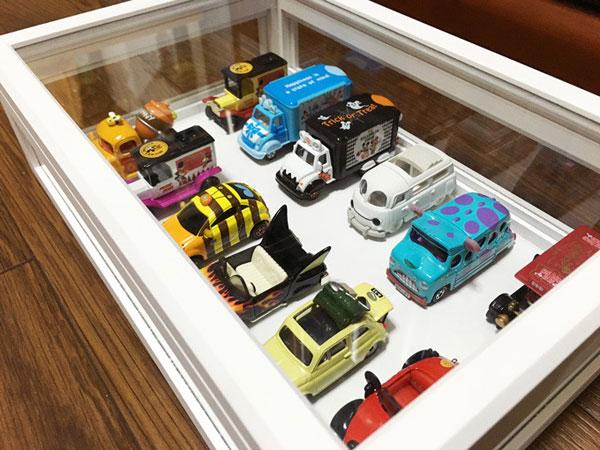 ガラスケース コレクションケース 収納ケース 幅34.5cm 完成品 アクセサリー ジュエリー - エイムキューブ画像3