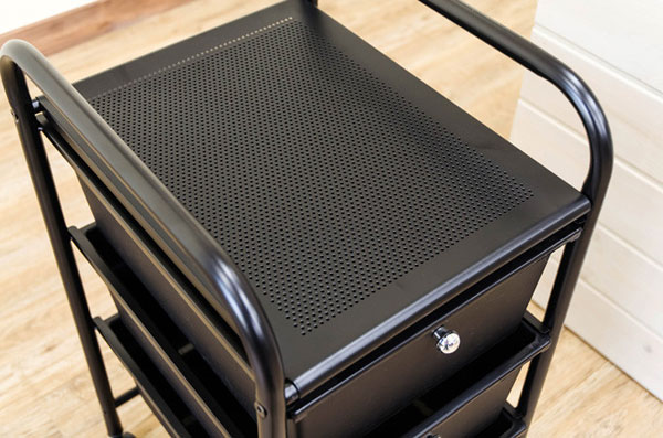 ファイルボックス 書類棚 フリーチェスト キャスター付 ファイルボックス 整理棚 2色展開 - aimcube画像2