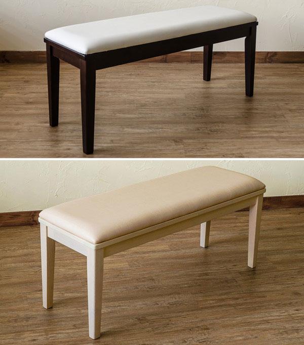 食卓椅子 長椅子 ベンチチェアー 天然木製 ダイニングベンチチェア待合室用 - aimcube画像2