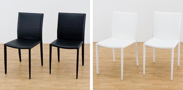 ダイニング椅子 食卓チェア いす 合皮レザー 完成品 ダイニング用 イス - aimcube画像2