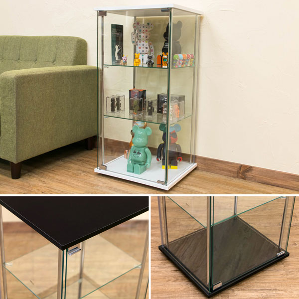 コレクションケース 3段 ガラスケース フィギュア収納 ガラス棚 収納棚 ショーケース - エイムキューブ画像3