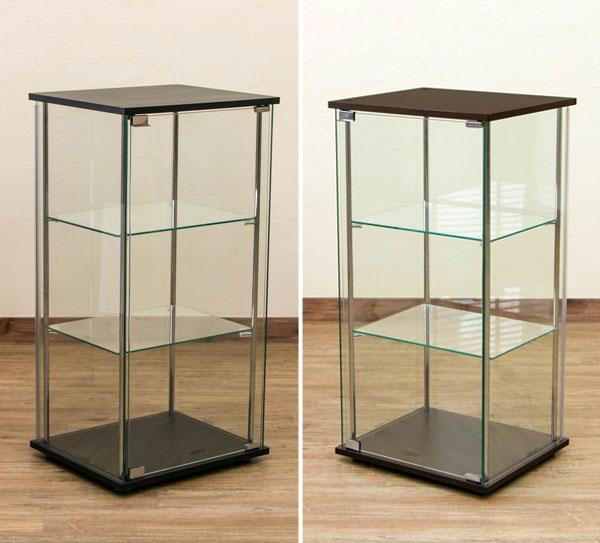 キャビネット 飾り棚 収納家具 全面ガラス仕様 コレクションボックス 3色展開 - aimcube画像4