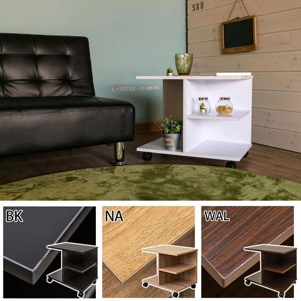 簡易テーブル コーナーテーブル 簡易デスク ☆ キャスター付 アウトレット ベッドサイドテーブル - aimcube画像2