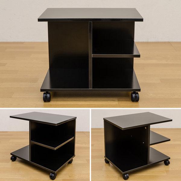訳あり サイドテーブル ソファテーブル サイドワゴン 補助テーブル テーブル 机 移動 ワゴン - エイムキューブ画像3