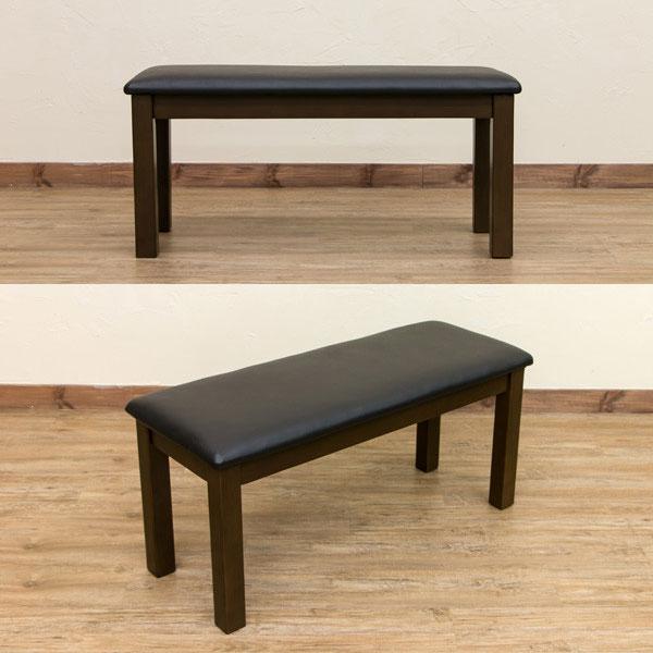 北欧風 ベンチ 幅100cm 玄関用 エントランスベンチ 食卓 椅子 エントランス ベンチ  - エイムキューブ画像3