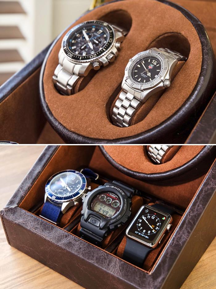 ワインディングマシーン 腕時計収納ケース 5本用 自動巻き ウォッチケース - エイムキューブ画像3