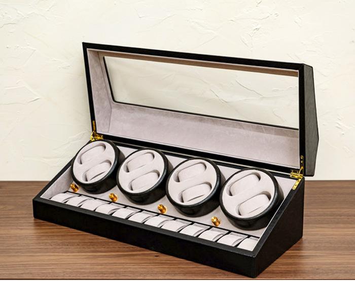 腕時計 収納 20本用 ワインディング部8本 ウォッチケース 自動巻 時計 ケース - エイムキューブ画像3
