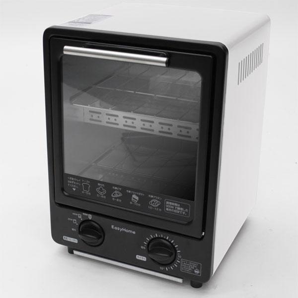 タテ型トースター 2段構造 キッチン家電 トレイ2枚付 250W 650W 900W - エイムキューブ画像2