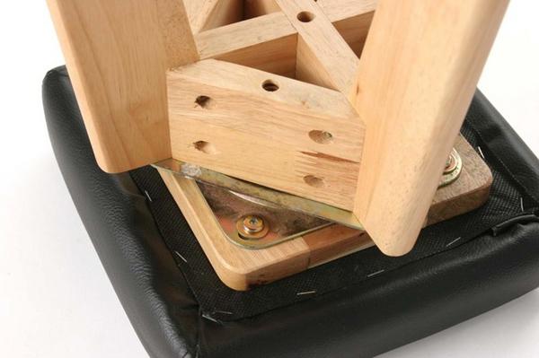 回転チェア 玄関スツール 腰掛け 座面360度回転 送料無料 座面回転スツール 休憩椅子 - aimcube画像4