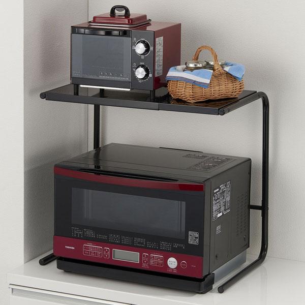 卓上プリンターラック 卓上棚 上置き棚 幅広ワイドタイプ プリンター置き棚 デスク上ラック - aimcube画像2