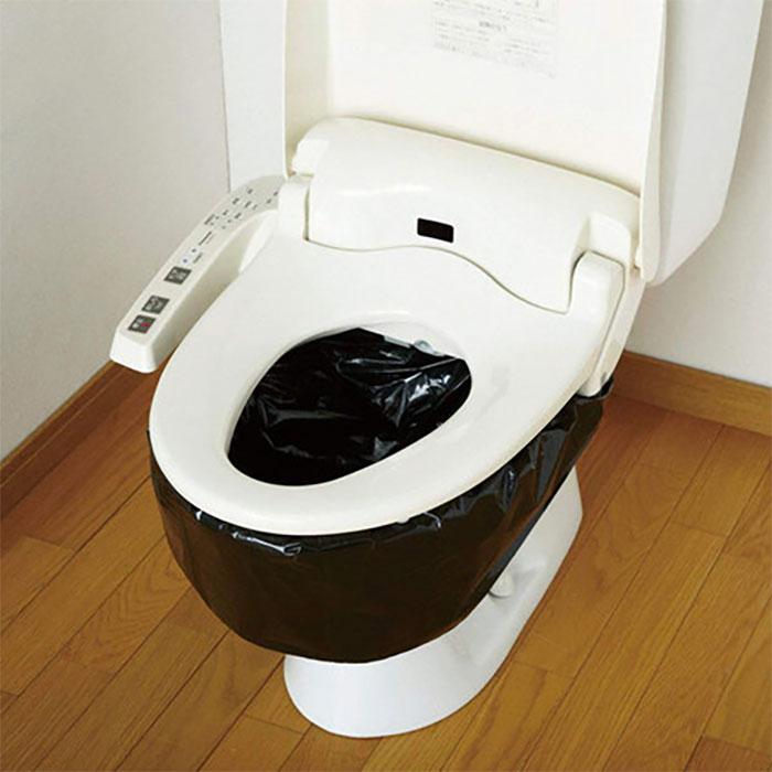 簡易トイレ 凝固剤 汚物袋 処理袋 セット 防災アイテム - エイムキューブ画像3